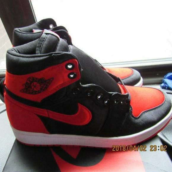Nike Air Jordan Satin Banned S Ua